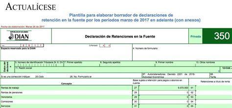 [ORO] Plantilla para elaborar borrador de formulario 350 ...