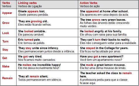 Os verbos e as palavras de ligação em Inglês - Mundo Educação