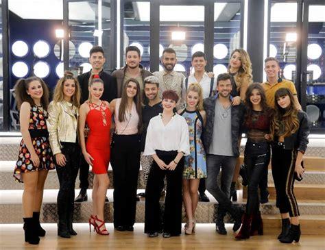 OT 2017: Los concursantes de 'Operación Triunfo' vuelven a ...