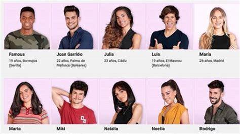 OT 2018: Así son los 18 concursantes de Operación Triunfo ...
