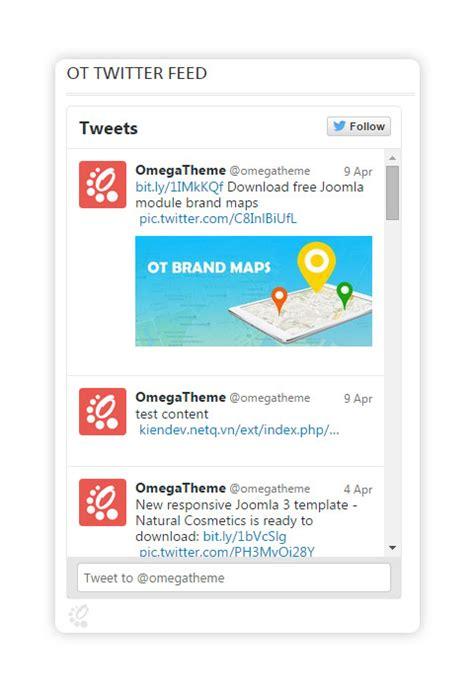 OT Twitter Feed - OmegaTheme.com