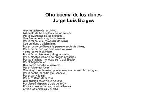 Otro poemas de los dones