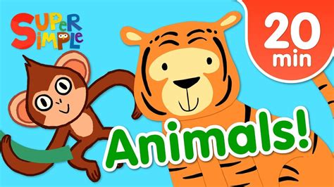 Our Favorite Animals Songs For Kids | Super Simple Songs ...