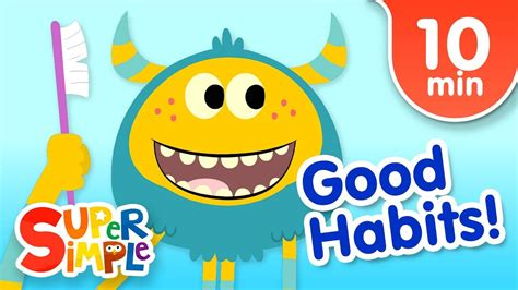 Our Favorite Kids Songs About Good Habits | Super Simple ...