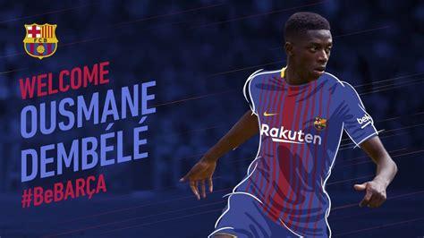 Ousmane Dembélé, FC Barcelona's new signing - FC Barcelona