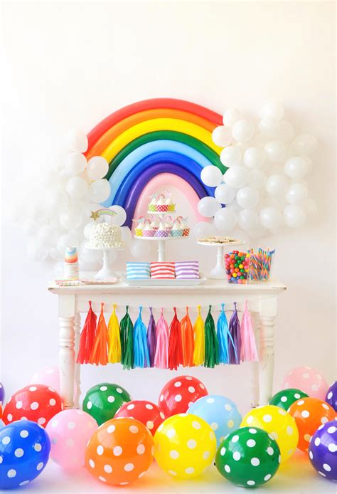 Over the Rainbow Birthday Party for Kids - Project Nursery