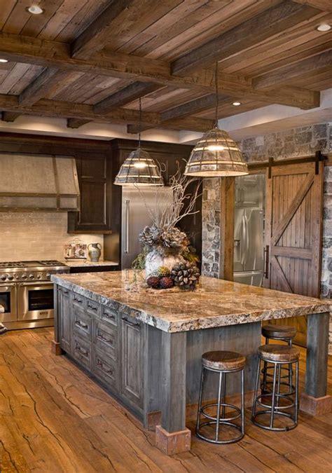 oversized island; custom cabinetry; kitchen cabinets ...