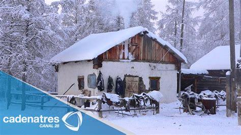 Oymyakon es la región habitada más fría del mundo - YouTube