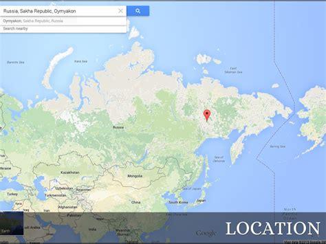 Oymyakon Russia Map Choice Image   Diagram Writing Sample ...
