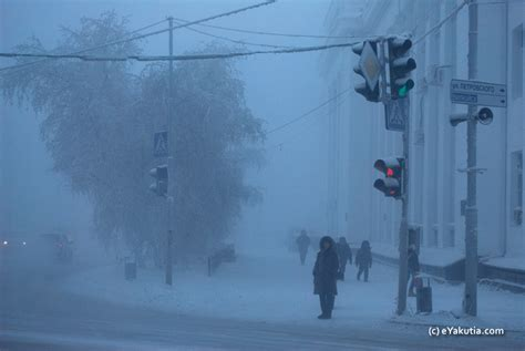 Oymyakon: The Coldest place on Earth.