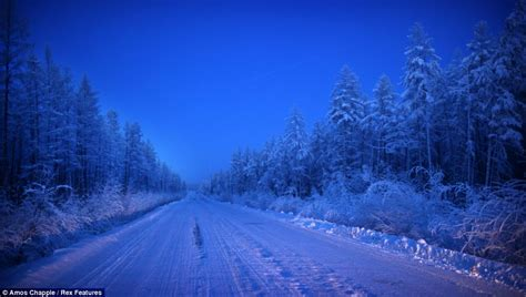 Oymyakon, the coldest village on earth: Temperatures drop ...