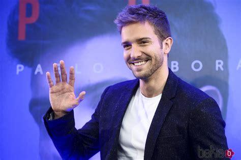 Pablo Alborán durante la presentación de su disco  Prometo ...