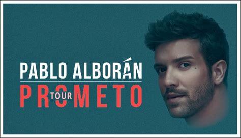 """Pablo Alborán vuelve a la Argentina con """"Prometo Tour ..."""