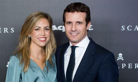 Pablo Casado y su mujer, Isabel, de fiesta