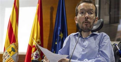 Pablo Echenique suspende una conferencia en Londres por ...