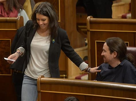 Pablo Iglesias e Irene Montero  Foto Podemos    Diario La ...