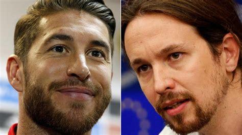 Pablo Iglesias responde a Sergio Ramos:
