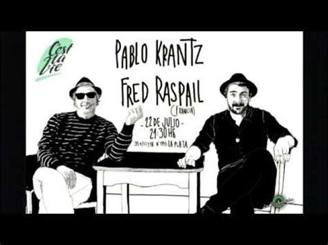 Pablo Krantz rockea en francés, en el CeCuAl