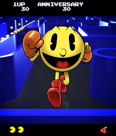 Pac-Man 30th Anniversary by PrimeOp on DeviantArt