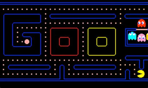 Pac-Man 30th anniversary Google doodle turns homepage into ...