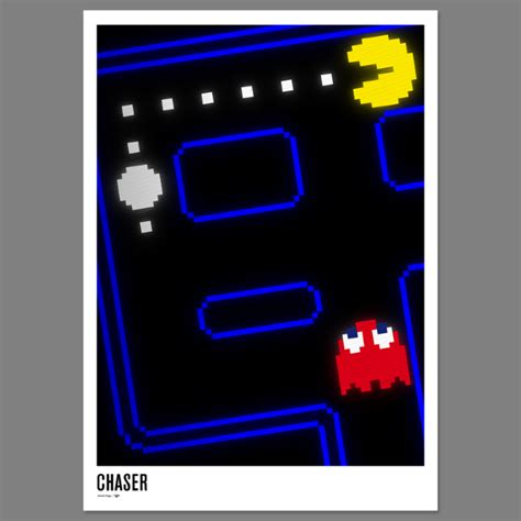 Pac-man 30th Anniversary Poster - excites - the Portfolio ...