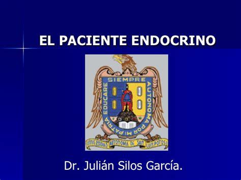 Paciente Endocrino Dr Silos