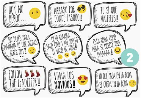 Pack carteles frases divertidas boda – Photocallme