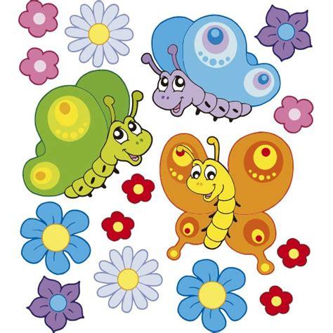 Pack Mariposas y Flores Vinilos infantiles