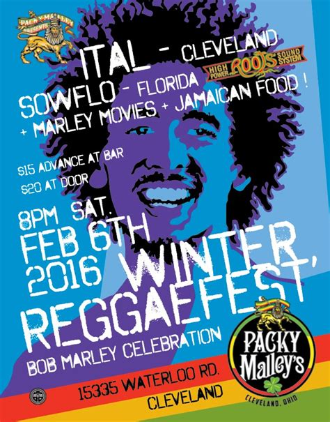 Packy Malley's Ballroom to Host Winter Reggae Fest | Scene ...