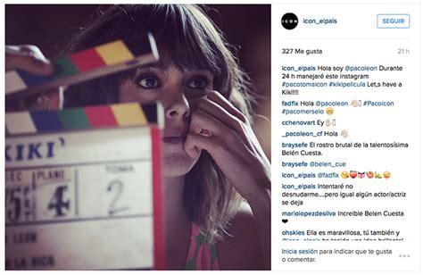 Paco León, al asalto de Icon en Instagram, Campañas en ...