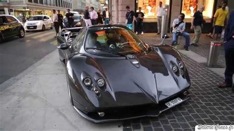 Pagani Zonda F full carbon in Geneva - Loud Sound ...