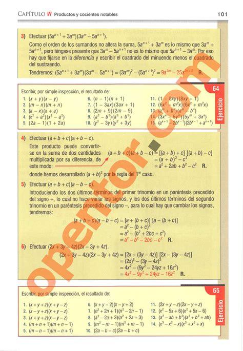 Pagina 100 algebra de baldor descargar