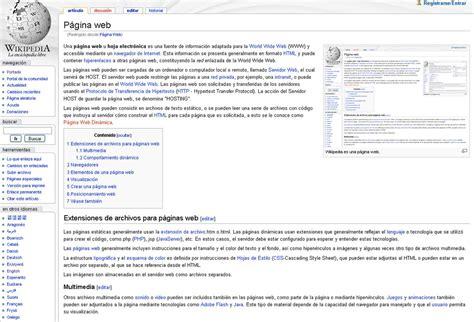 Página web - Wikipedia, la enciclopedia libre