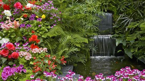 Paisaje con flores   1366x768 :: Fondos de pantalla y ...