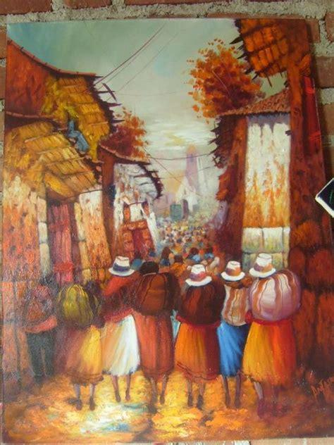 paisaje costumbrista - Buscar con Google   pintura peruana ...