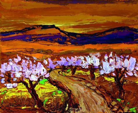Paisaje de almendros Juan Francés Gandía - Artelista.com