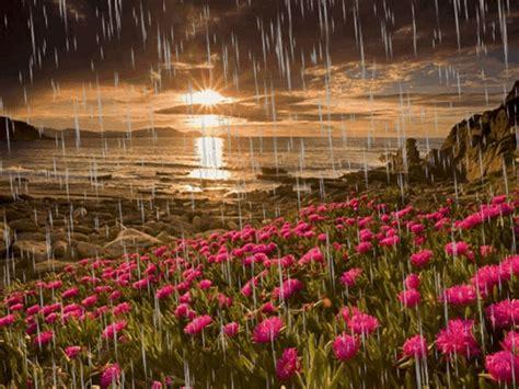 PAISAJES ANIMADOS: Paisaje animado de lluvia  5