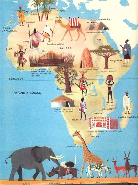 PAISAJES Y HABITANTES DE ÁFRICA   1º y 2º CURSO DE E. PRIMARIA