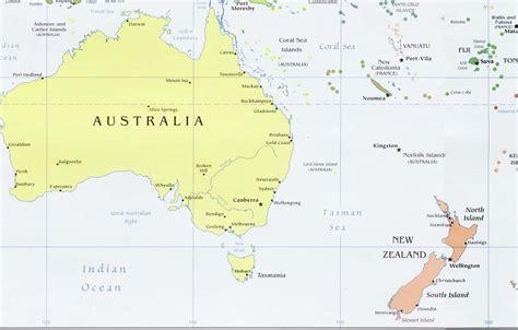 Países da Oceania   e suas capitais, idiomas e moedas ...