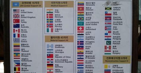 Países participantes en la Guerra de Corea [Eurowon]