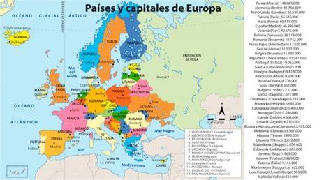 PAÍSES Y CAPITALES DE EUROPA. | Gilonesando