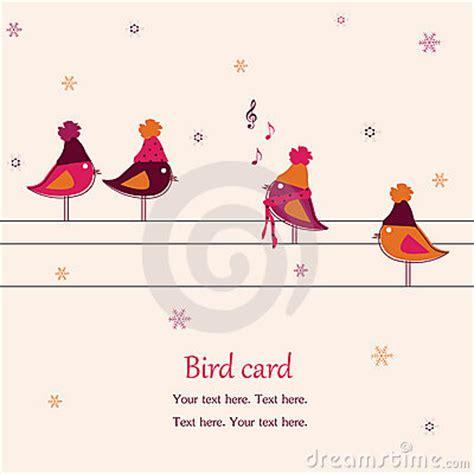 Pájaros, Cantando En Los Alambres Fotos de archivo ...