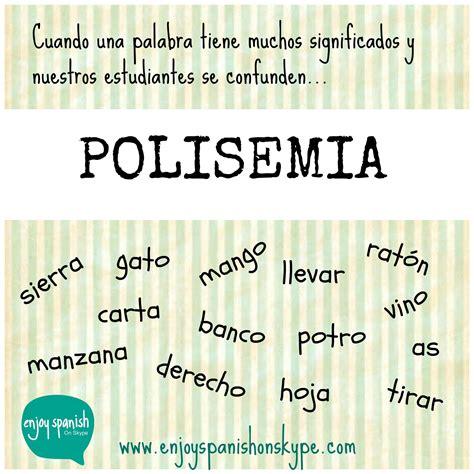 palabras polisémicas. | Lengua | Pinterest | Palabras ...
