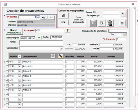 Palentino Blog - Plantilla Access para el control de ...