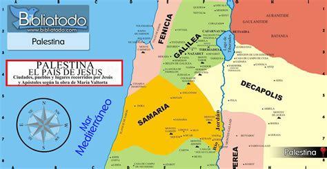 Palestina: tierra de forasteros - Mapa y Ubicación Geográfica