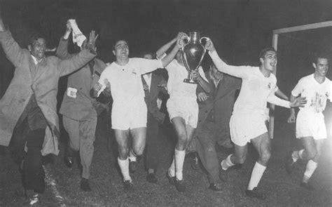 Palmarés de la Copa de Europa: Década de los 50