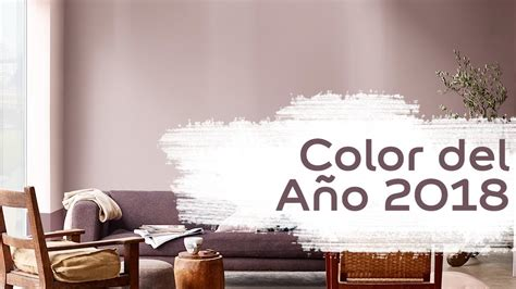 Palo de Rosa - Color del Año 2018 - Bruguer - YouTube