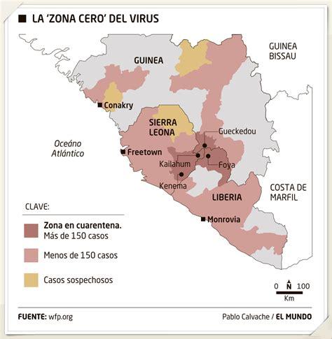 pampelmuse: El mapa del ébola / El Mundo en Orbyt