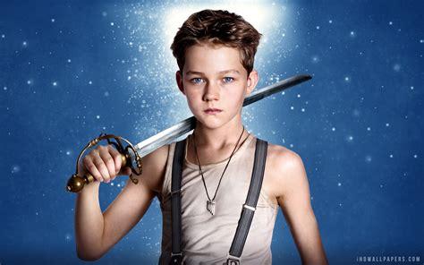 Pan 2015 images Levi Miller As Peter Pan In Movie 2015 HD ...