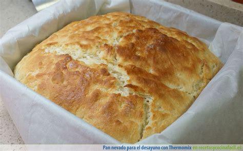 Pan nevado para el desayuno con Thermomix - Recetas en la ...